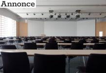 Mødelokale med av-udstyr